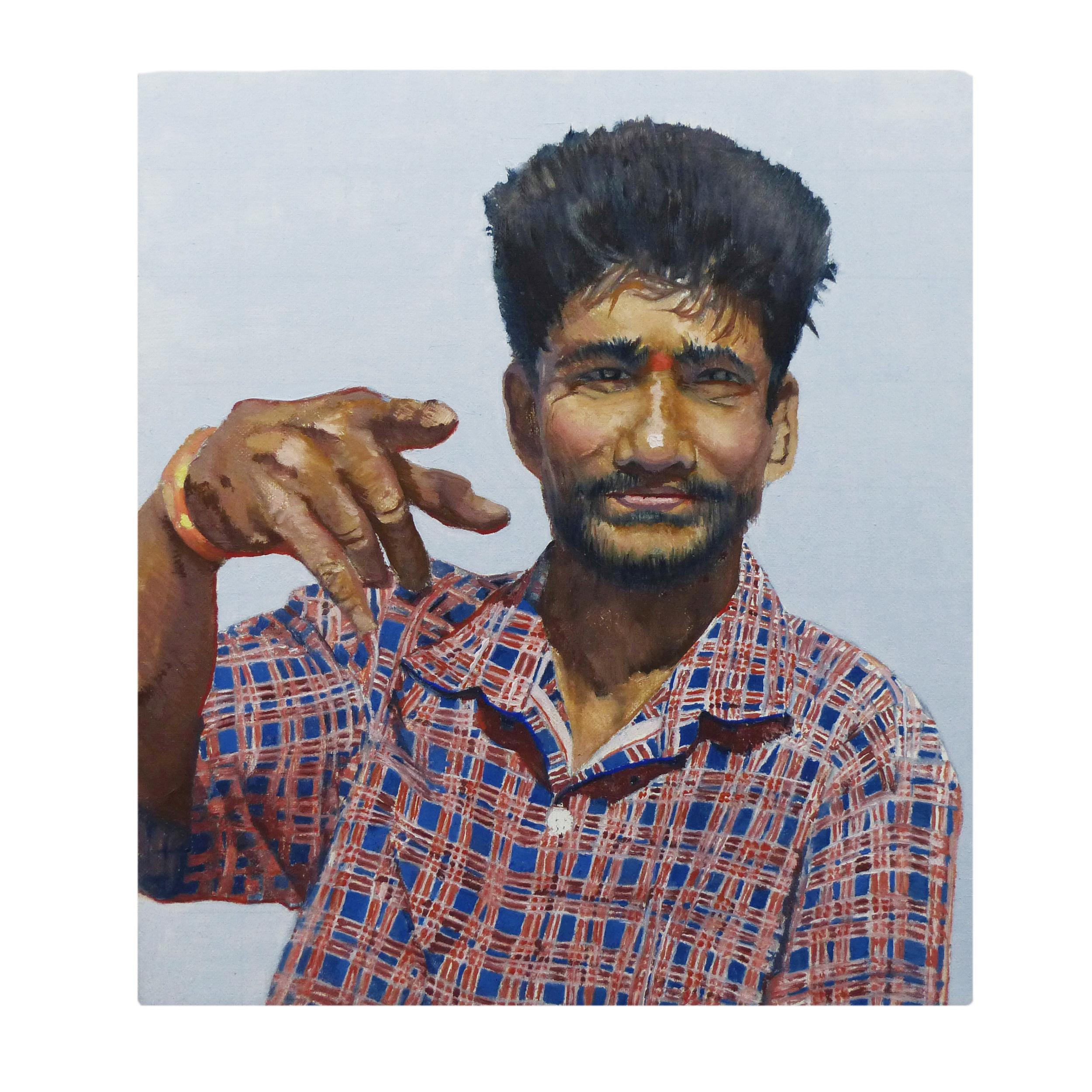 Mango Man: Mahabalipuram, 2013