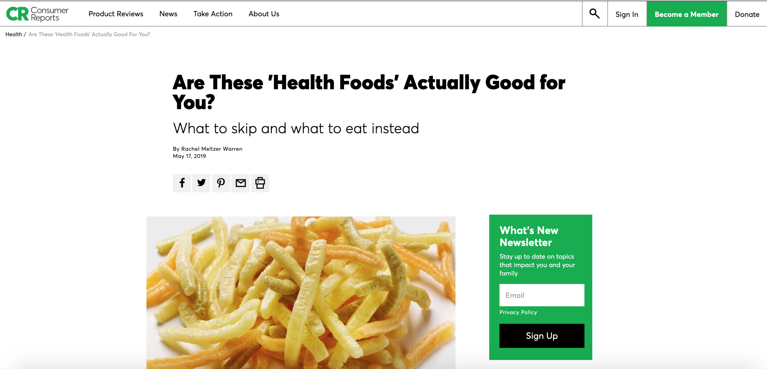 """Are These """"Health Foods"""" Actually Good For You?"""