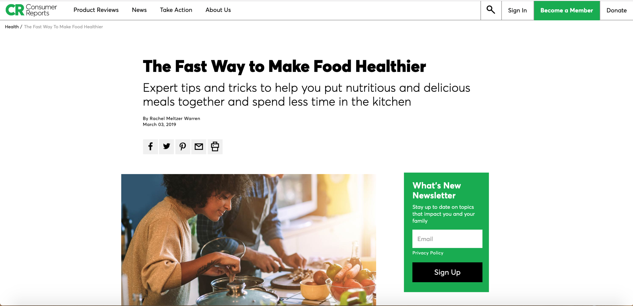 The Fast Way to Make Food Healthier