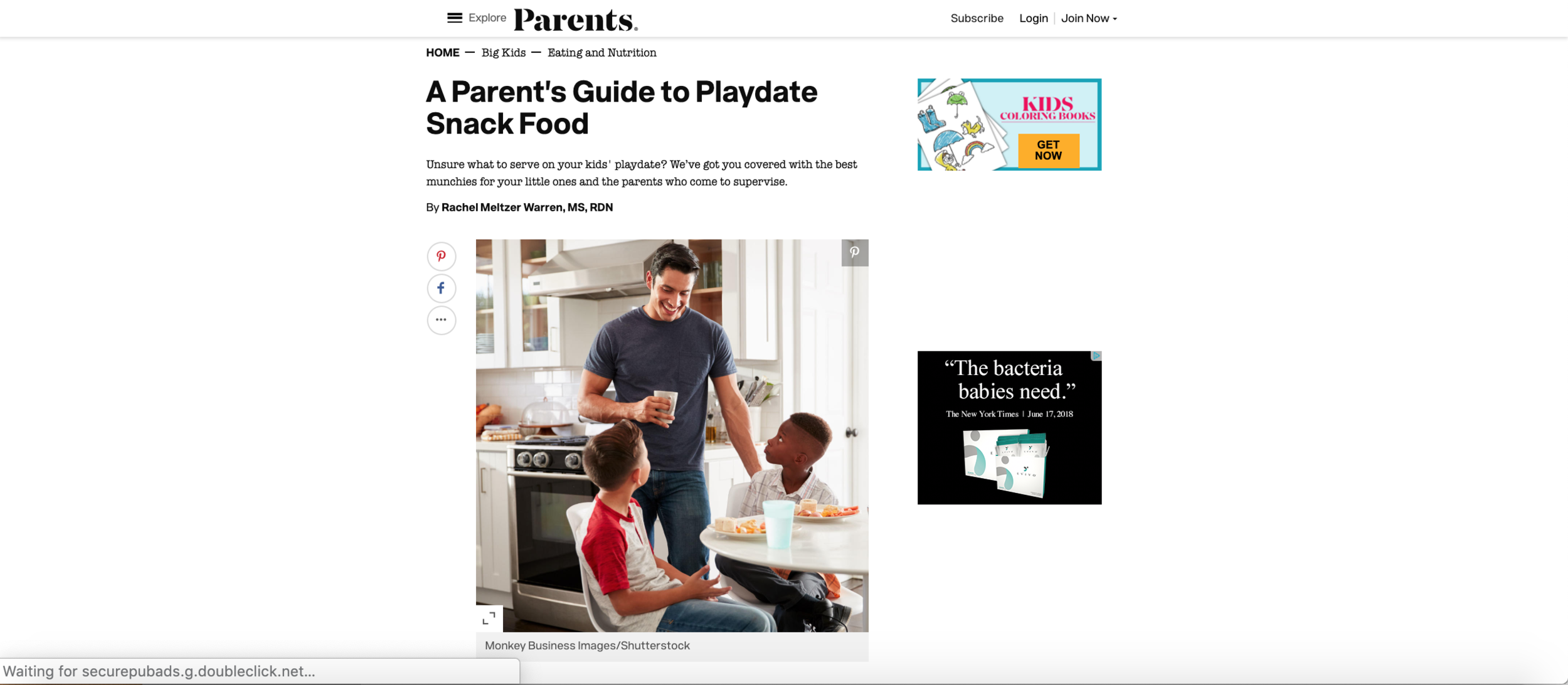 A Parent's Guide to Playdate Snack Food