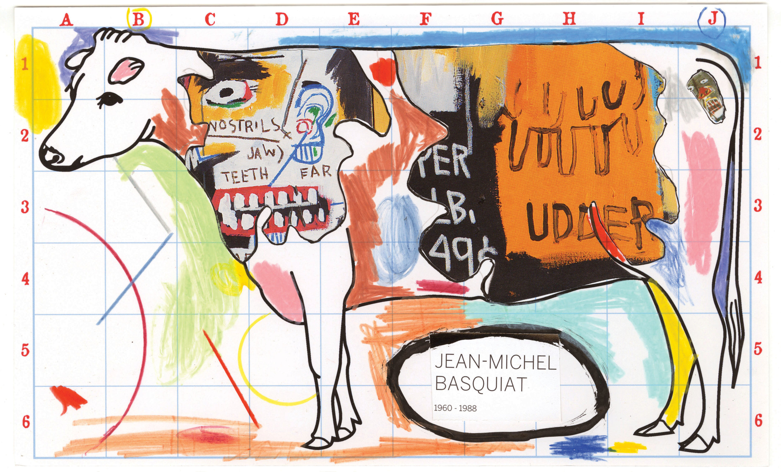 """Various Art Market Collages and Drawings  mixed media and collage on paper various sizes, roughly 10 x 12"""" 2015"""