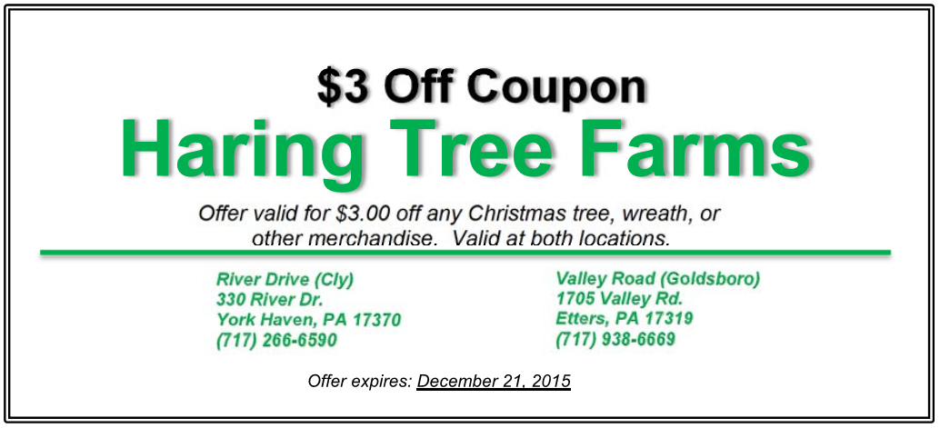 To redeem please provide a copy of the coupon or show us the coupon on your phone at checkout!