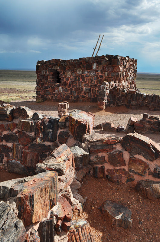 Agate House Petrified Forest