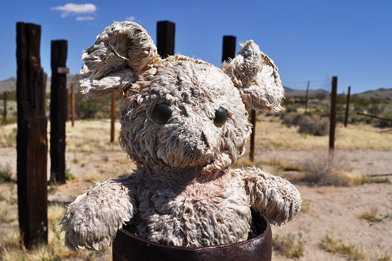 Ivanpah Ghost Town