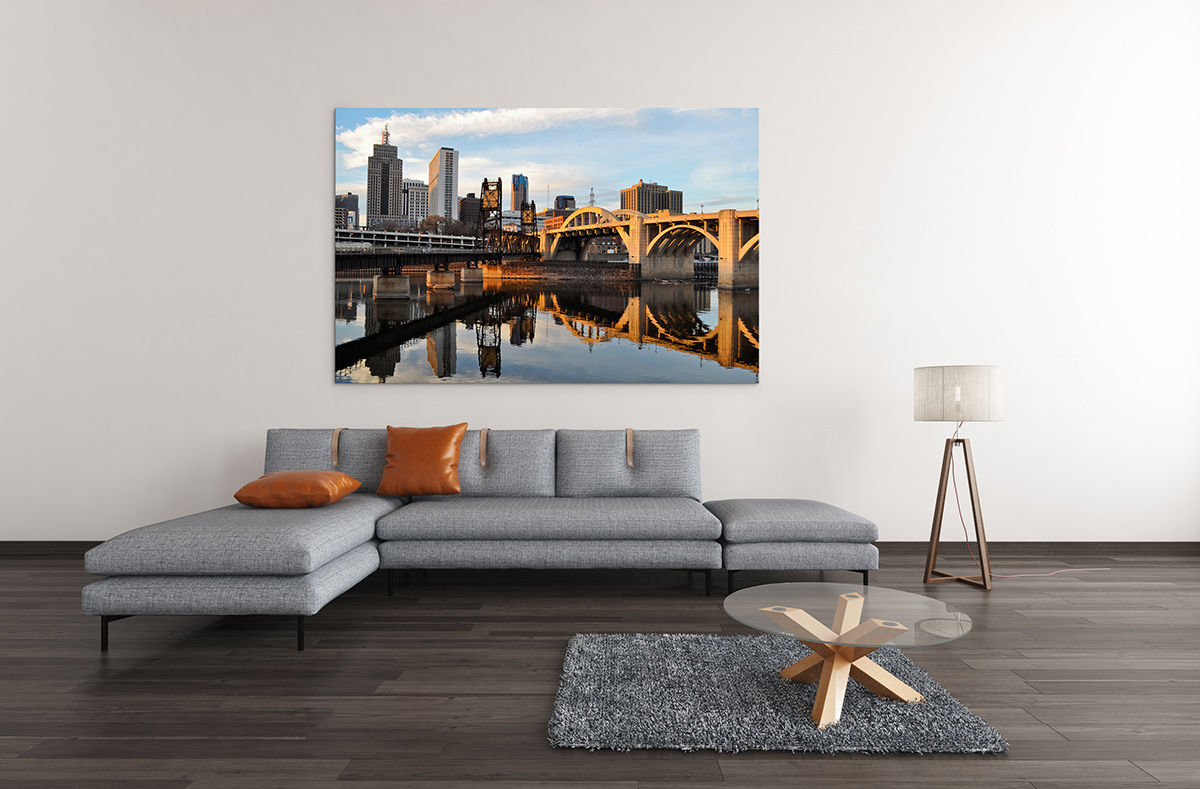 Saint Paul Minnesota Skyline Fine Art Print