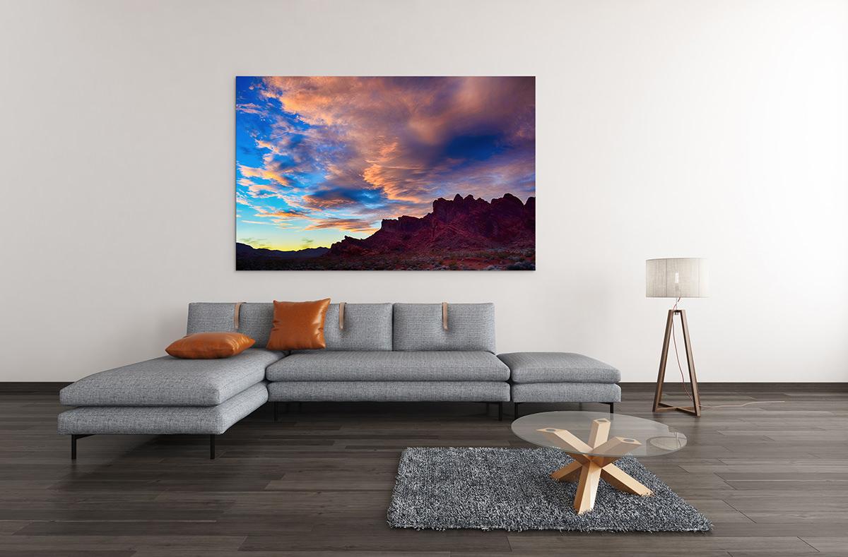 Valley of Fire Sunset Fine Art Print Las Vegas