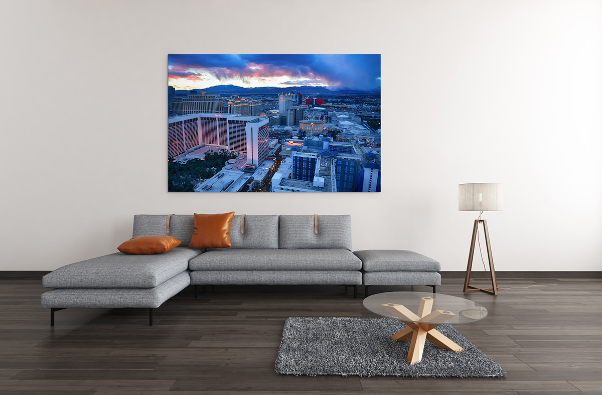 Las Vegas Sunset Fine Art Print