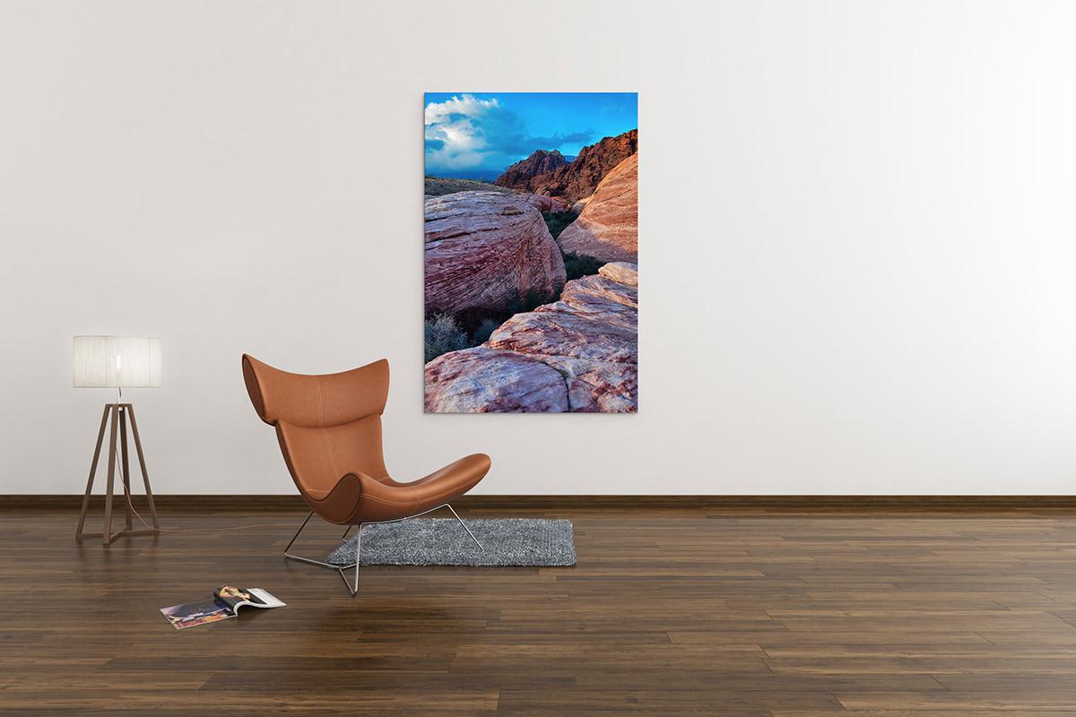 Red Rock Canyon Sunset Nevada Fine Art Print