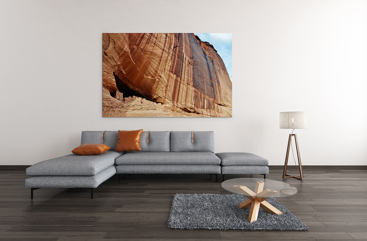 Canyon de Chelly National Monument Ruins Fine Art Print