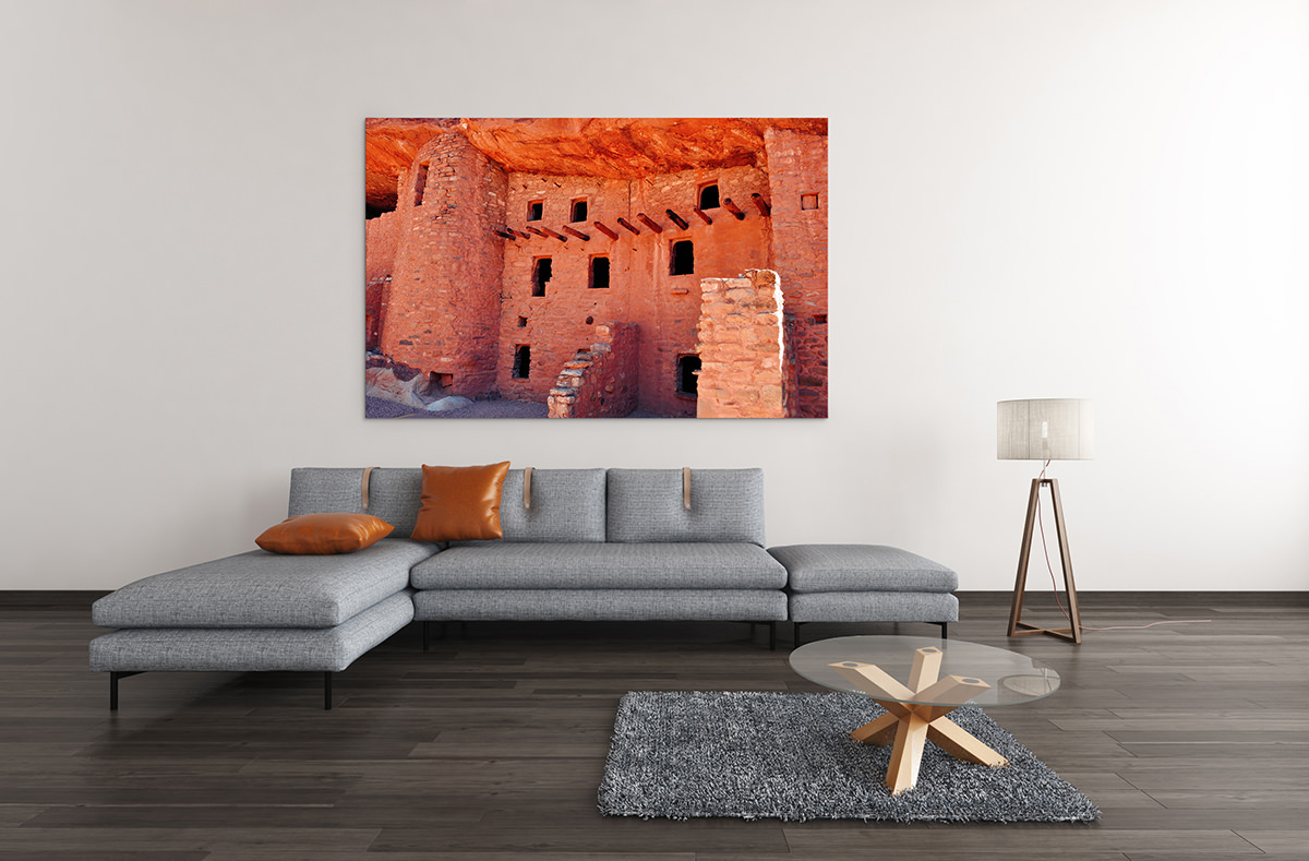 Manitou Cliff Dwellings Colorado Fine Art Print