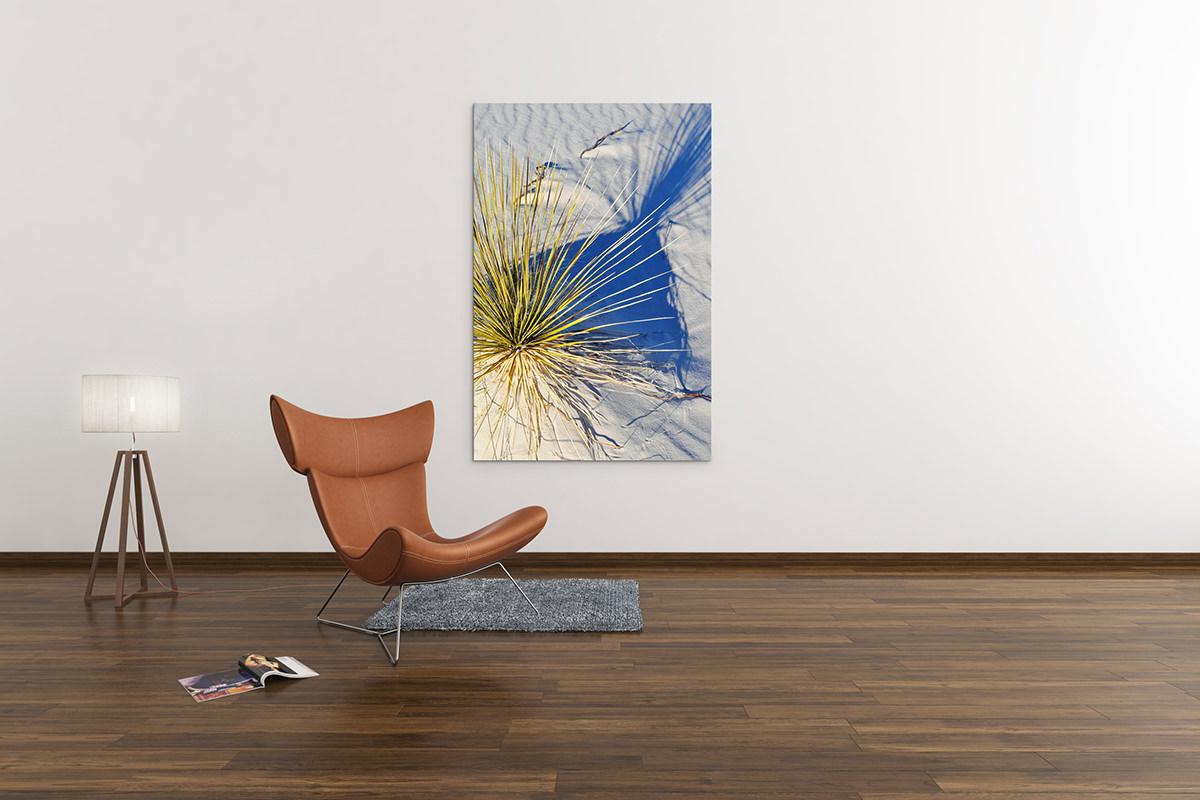 White Sands Shadow New Mexico Fine Art Print