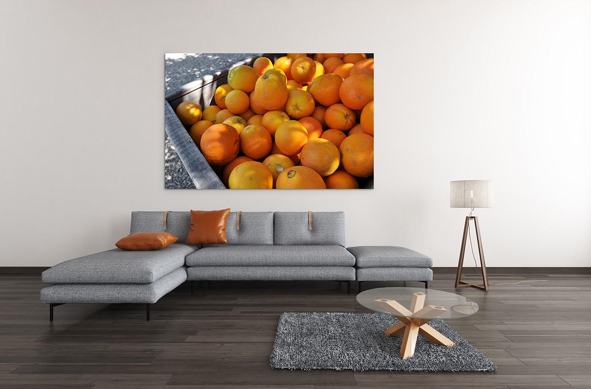 California Oranges Fine Art Print