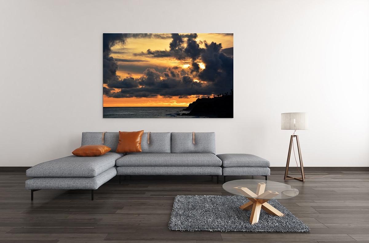 Malibu Ocean Sunset Fine Art Print