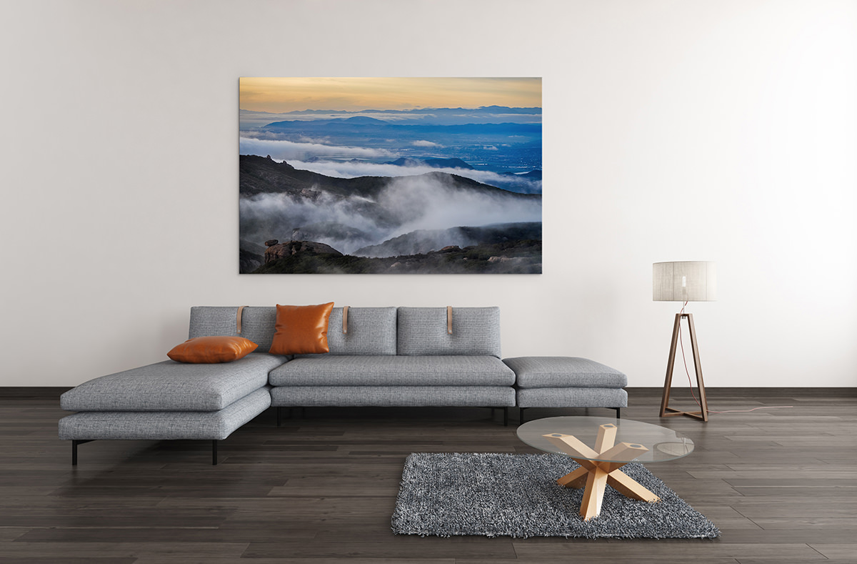 Santa Monica Mountains Fine Art Print