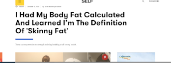 SELF: I Had My Body Fat Calculated