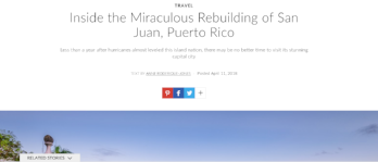 Architectural Digest: Inside the Miraculous Rebuilding of San Juan, Puerto Rico