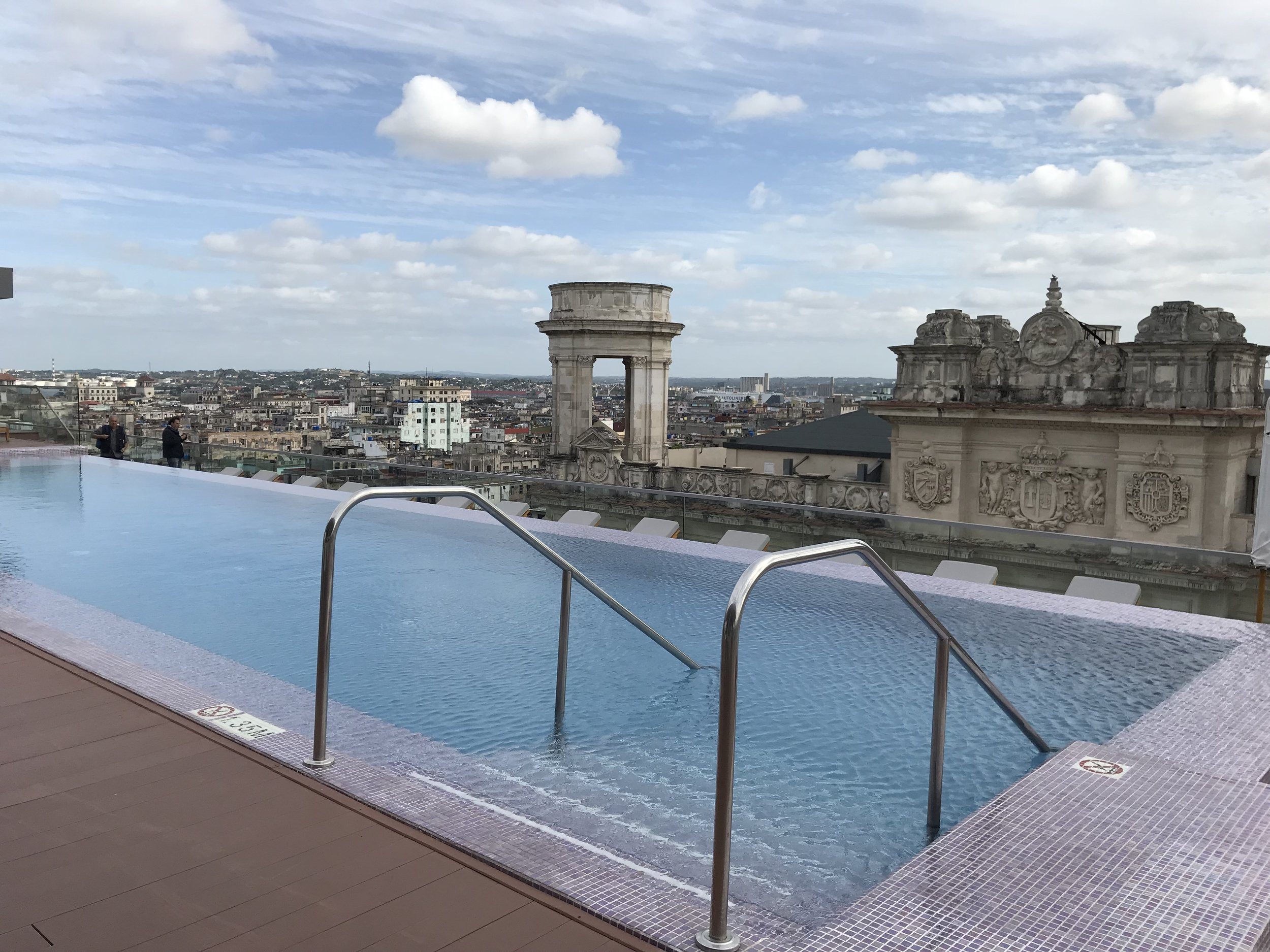 Views from the  Gran Hotel Manzana Kempinski  rooftop bar by Nate Jones