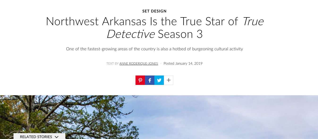 Architectural Digest: Northwest Arkansas Is the True Star of  True Detective  Season 3