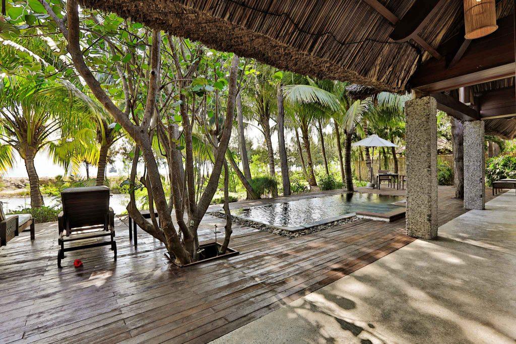 Private pool. Image: L'Alya