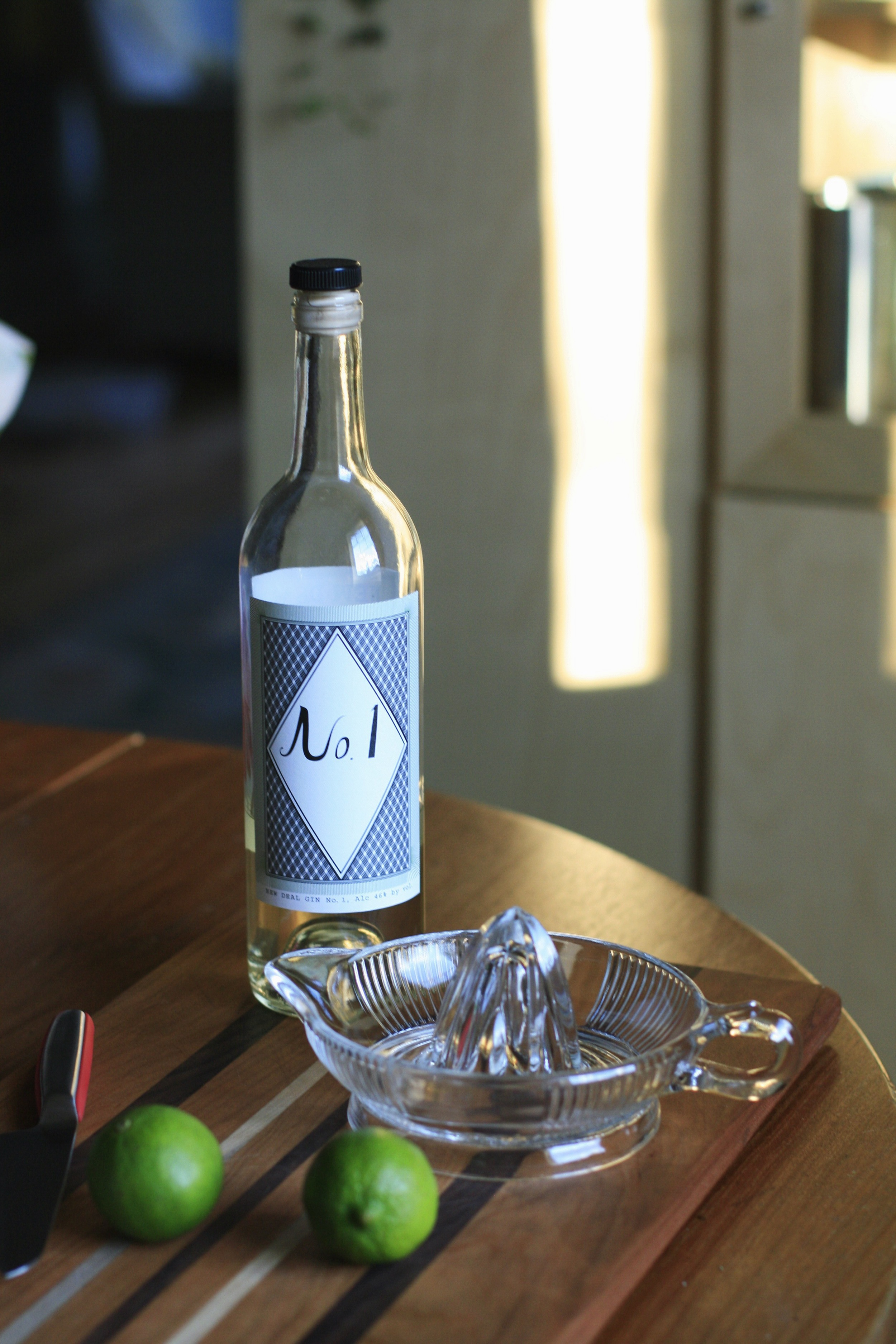 New Deal No. 1 - a winter gin