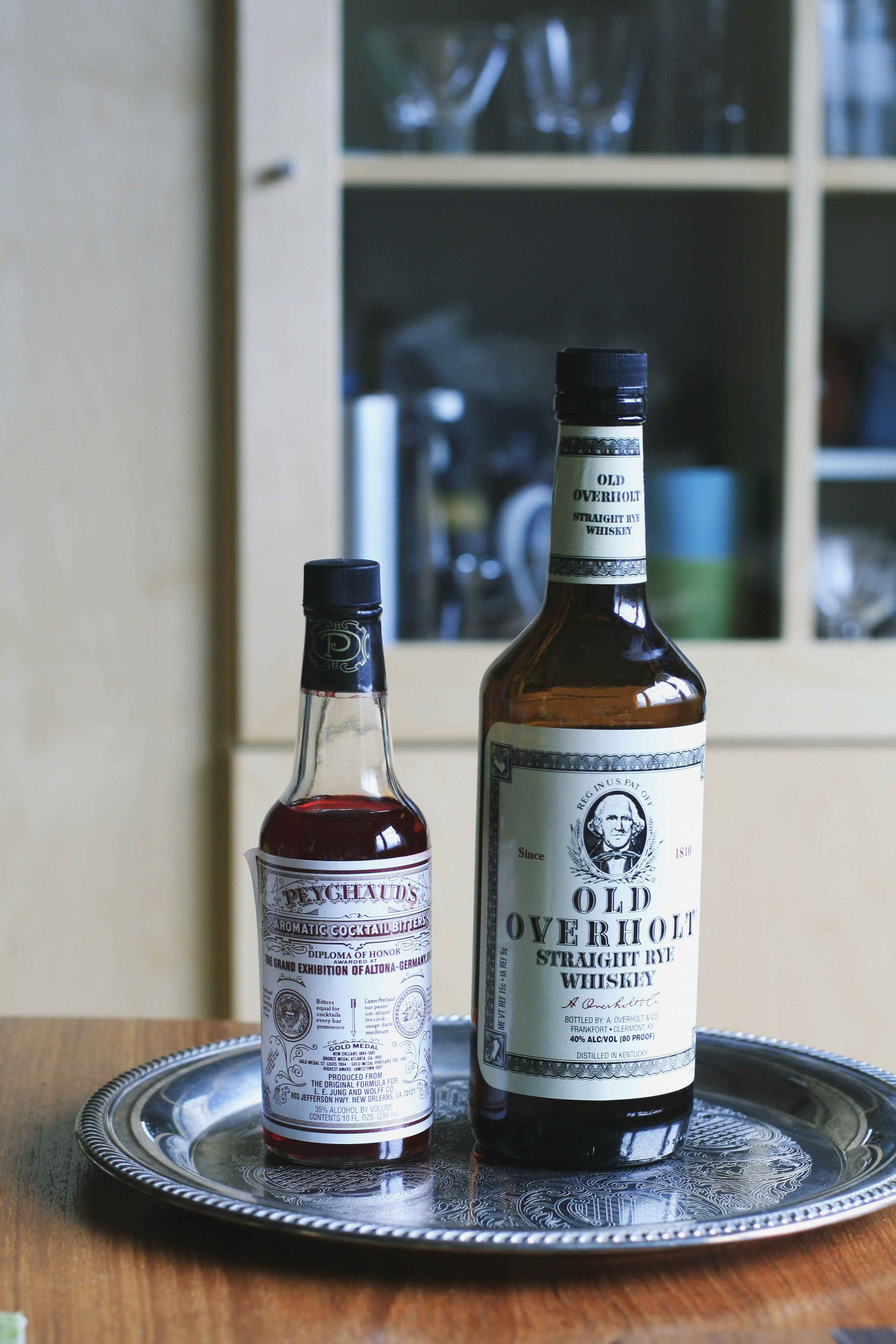 "Peychaud's Bitters and Old ""Overcoat"""