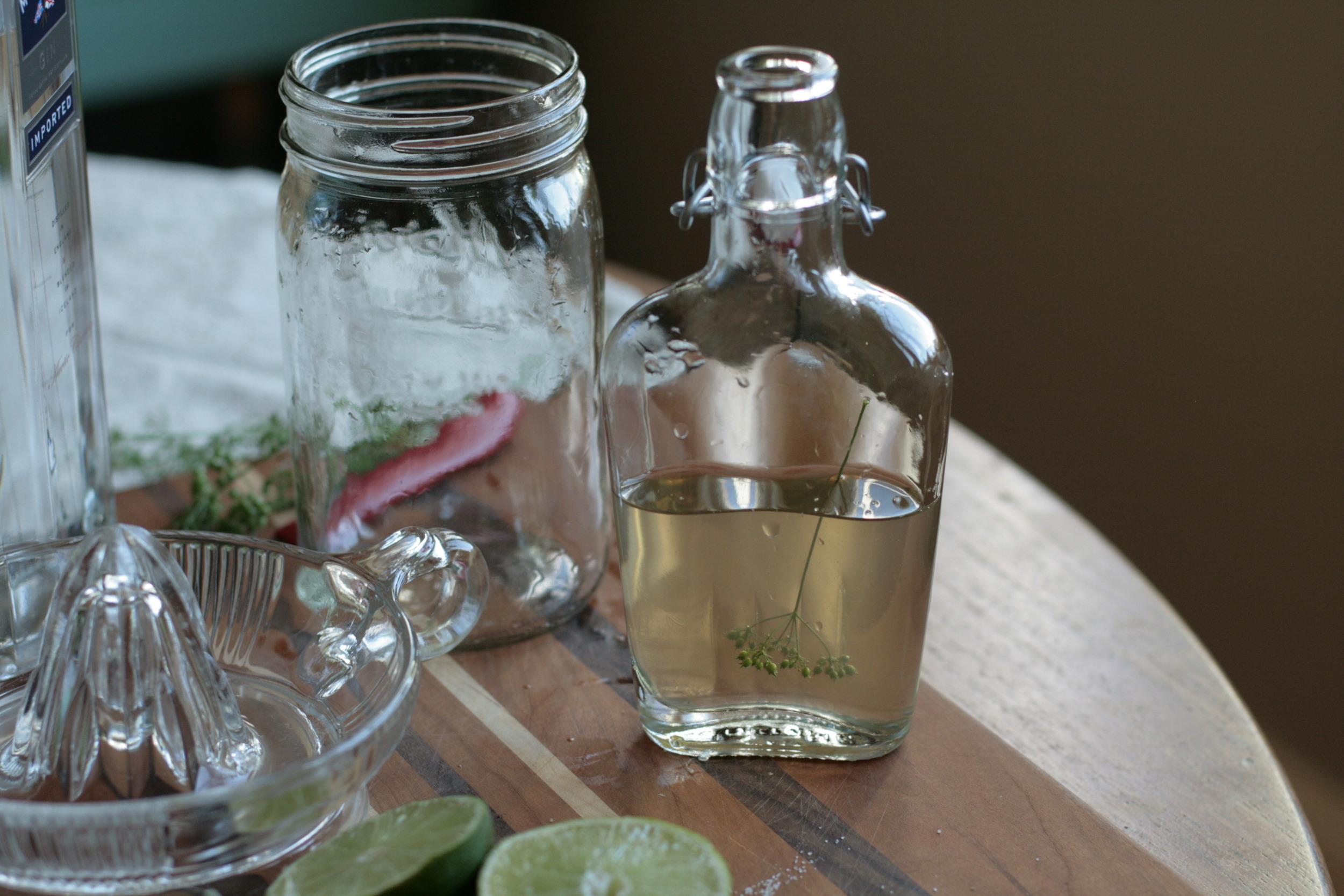 green coriander seed syrup