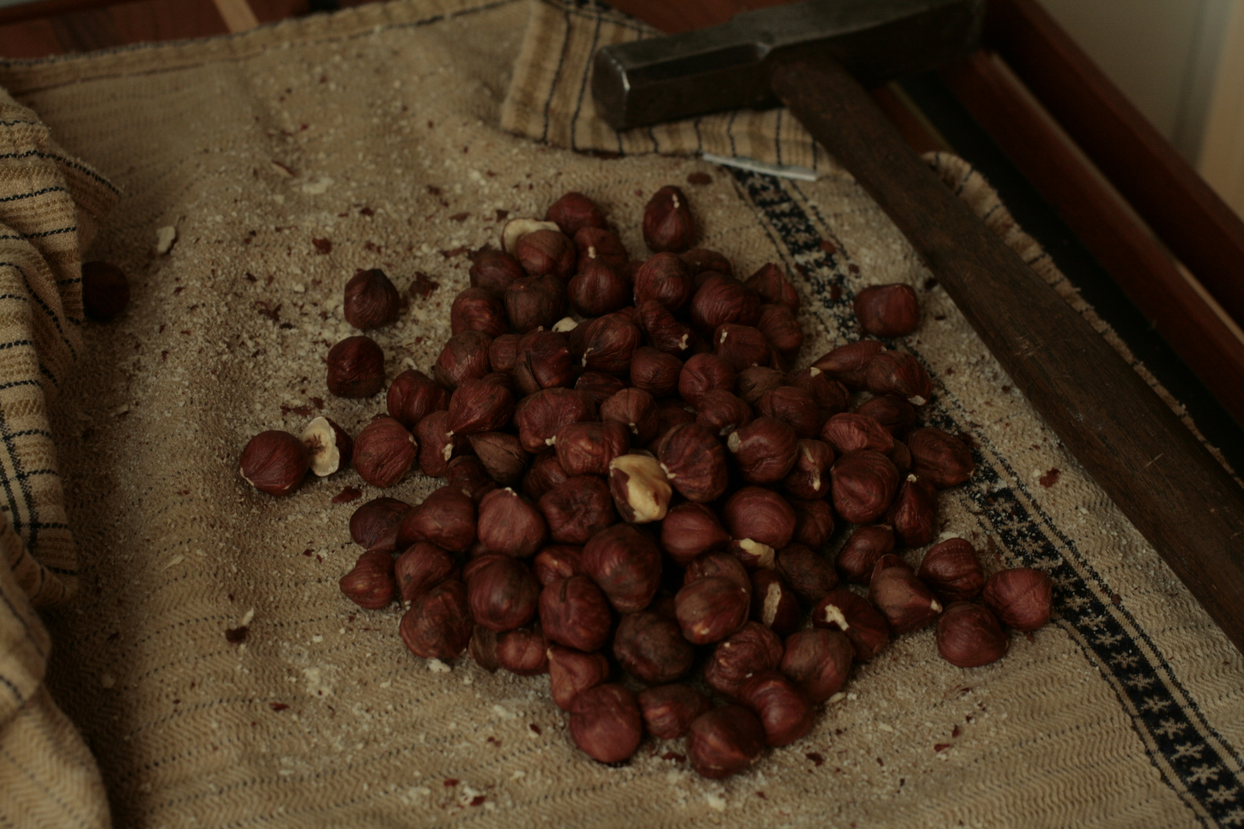 Oregon hazelnuts for orgeat