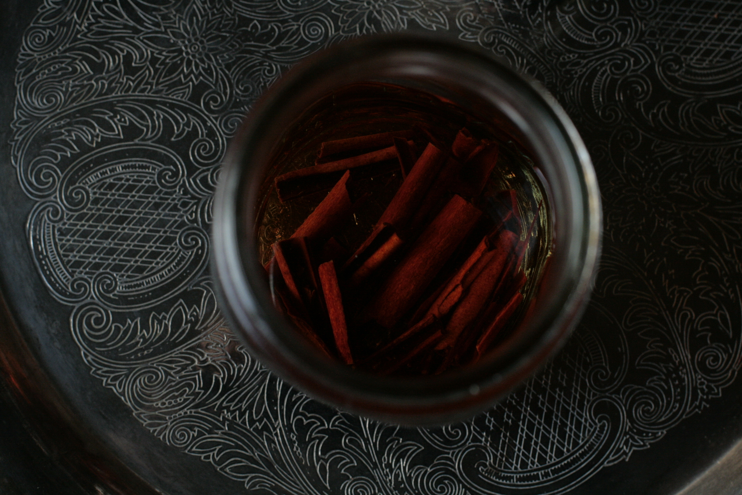 cinnamon tincture infusing