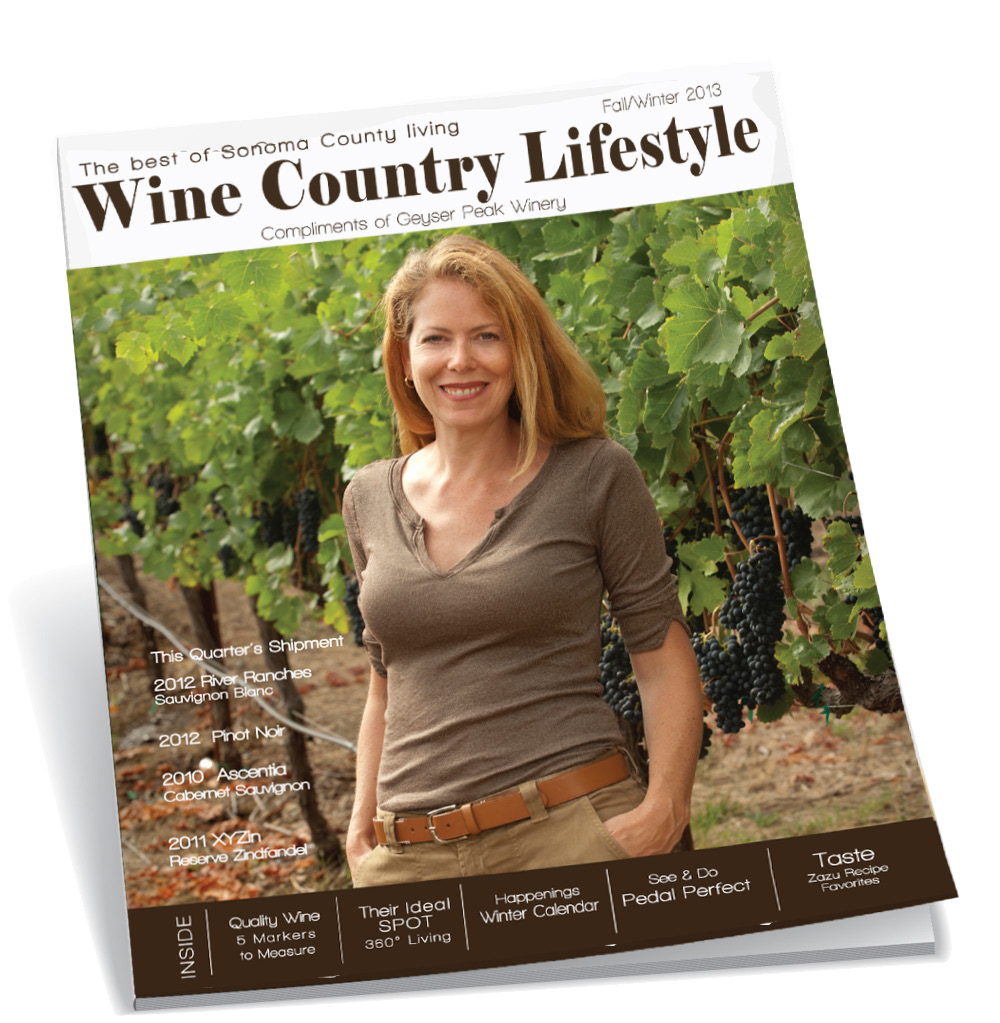 Wine Country Lifestyle featuring Geyser Peak Winery