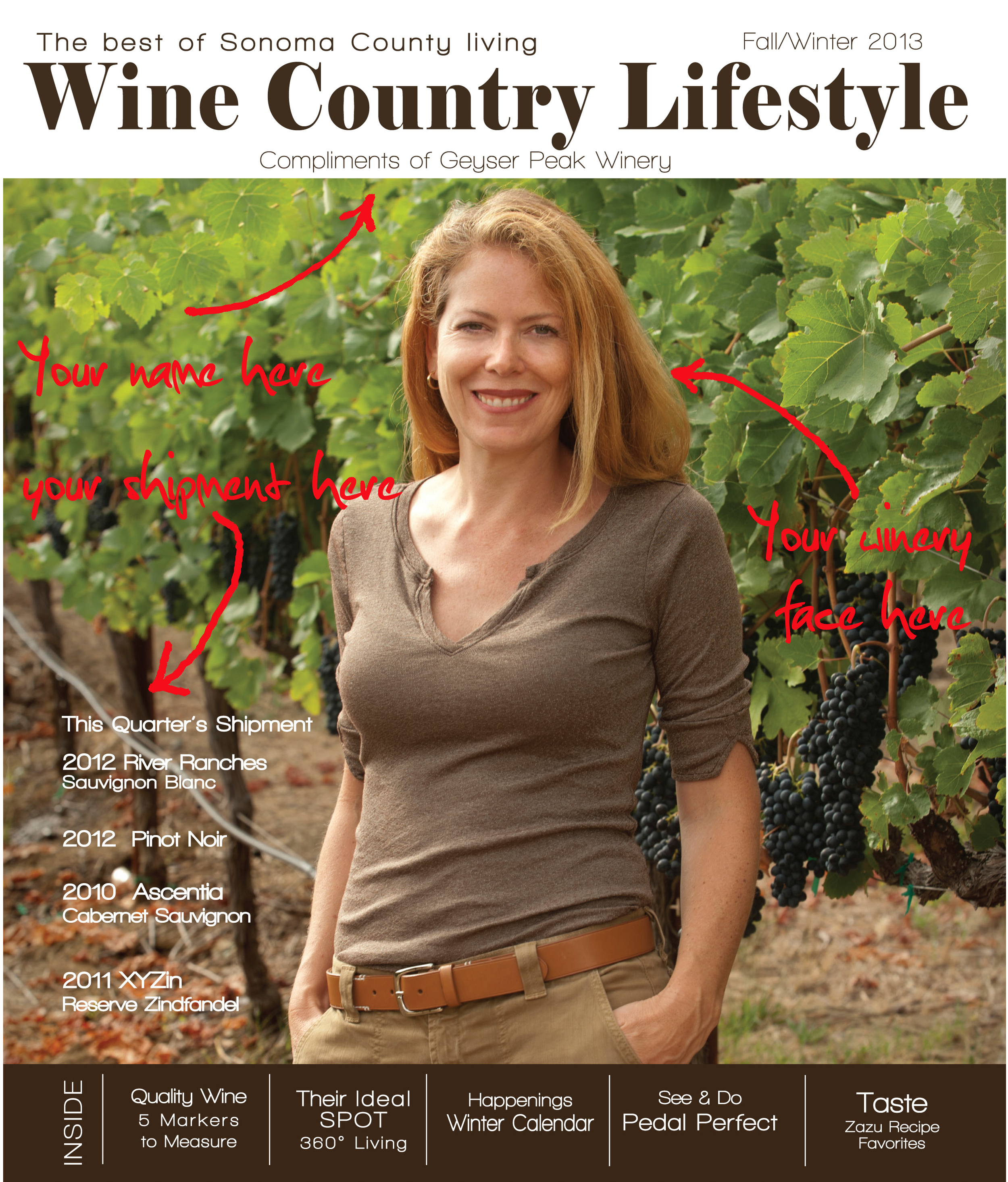 Wine Country Lifestyle Wine Club Gift Wine