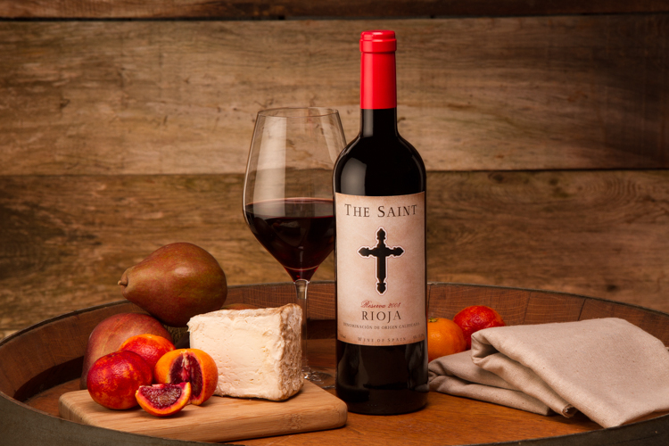 Wine Bottle Food Cheese Shot Photography