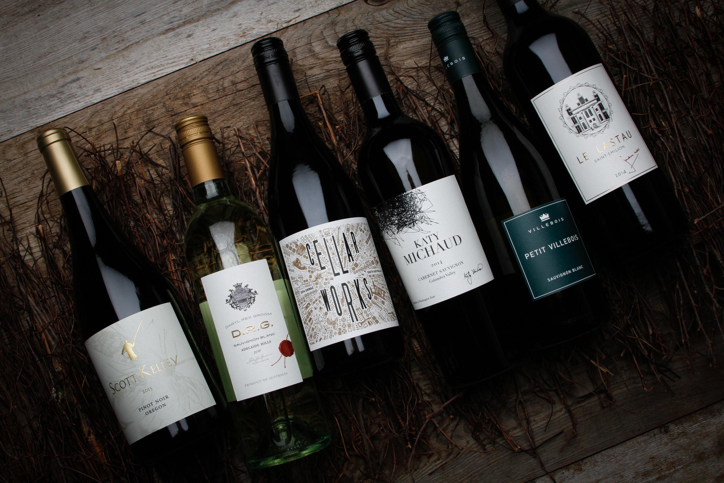 Left Coast Marketing Wine Bottle Photography