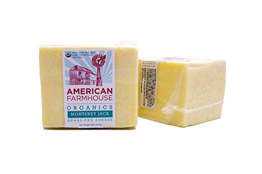 American Farmhouse, Organic, Raw, Grass fed, Non-GMO                 Meadow Jack Cheese