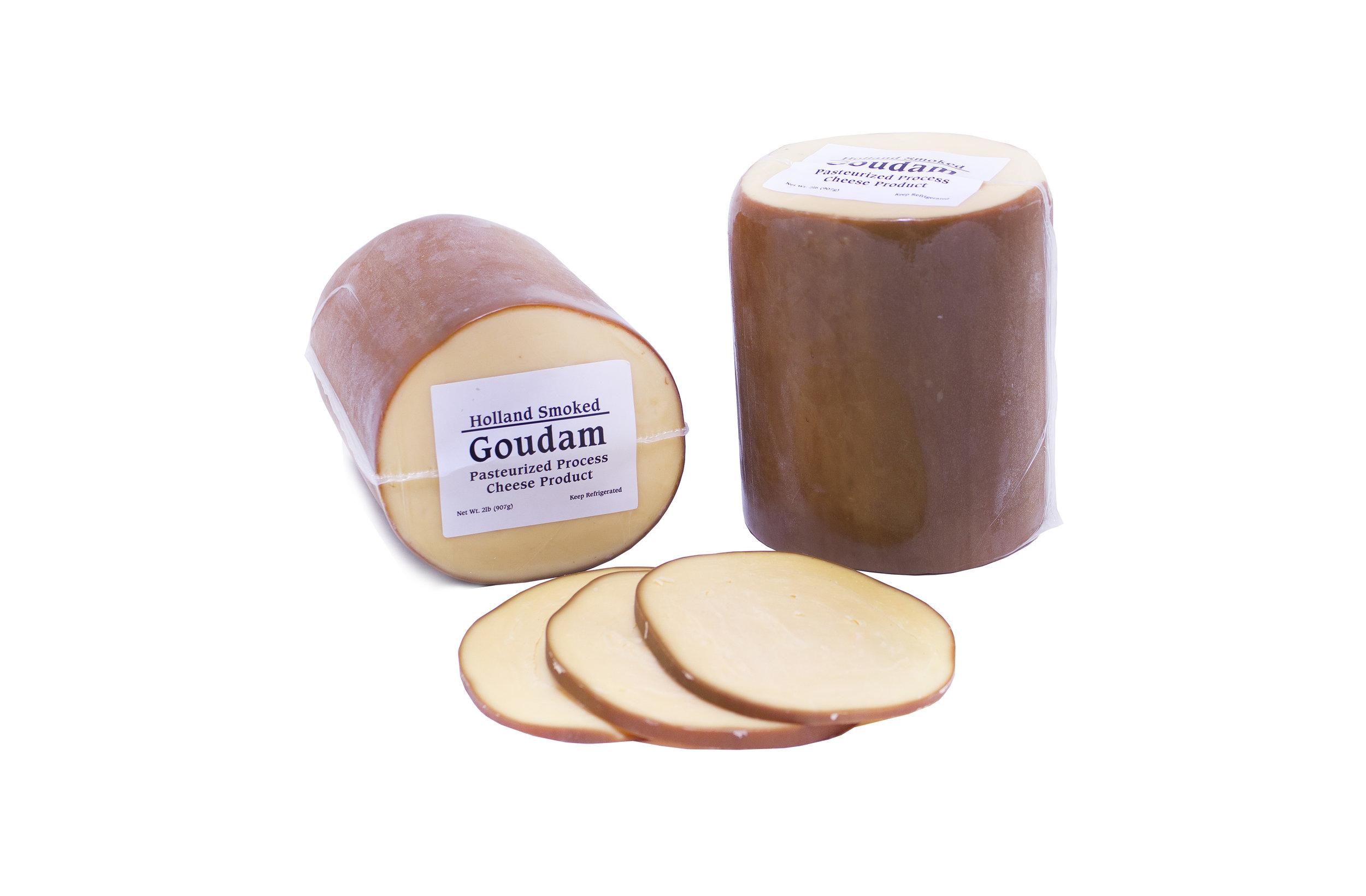Dutch Garden Smoked Goudam Cheese