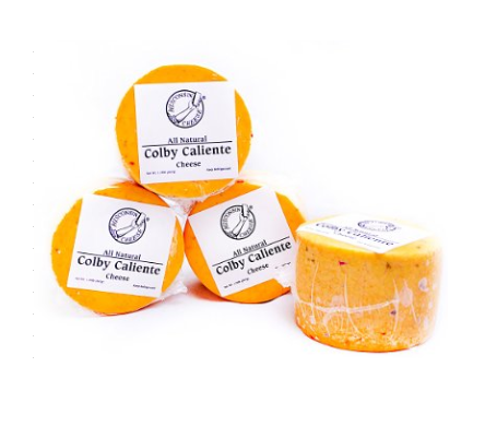 Wisconsin Colby Caliente Cheese