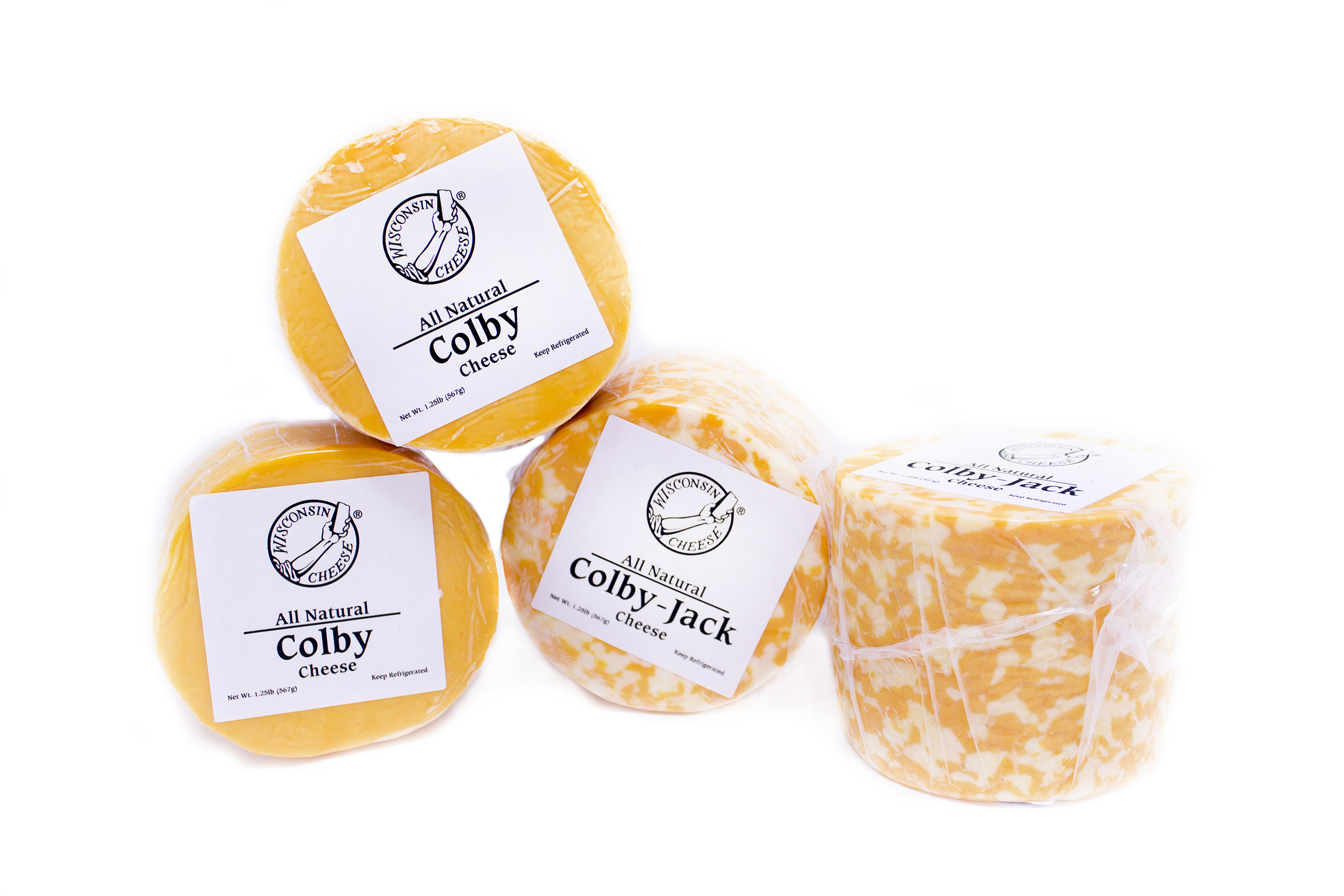 Wisconsin Colby and Colby Jack Cheese