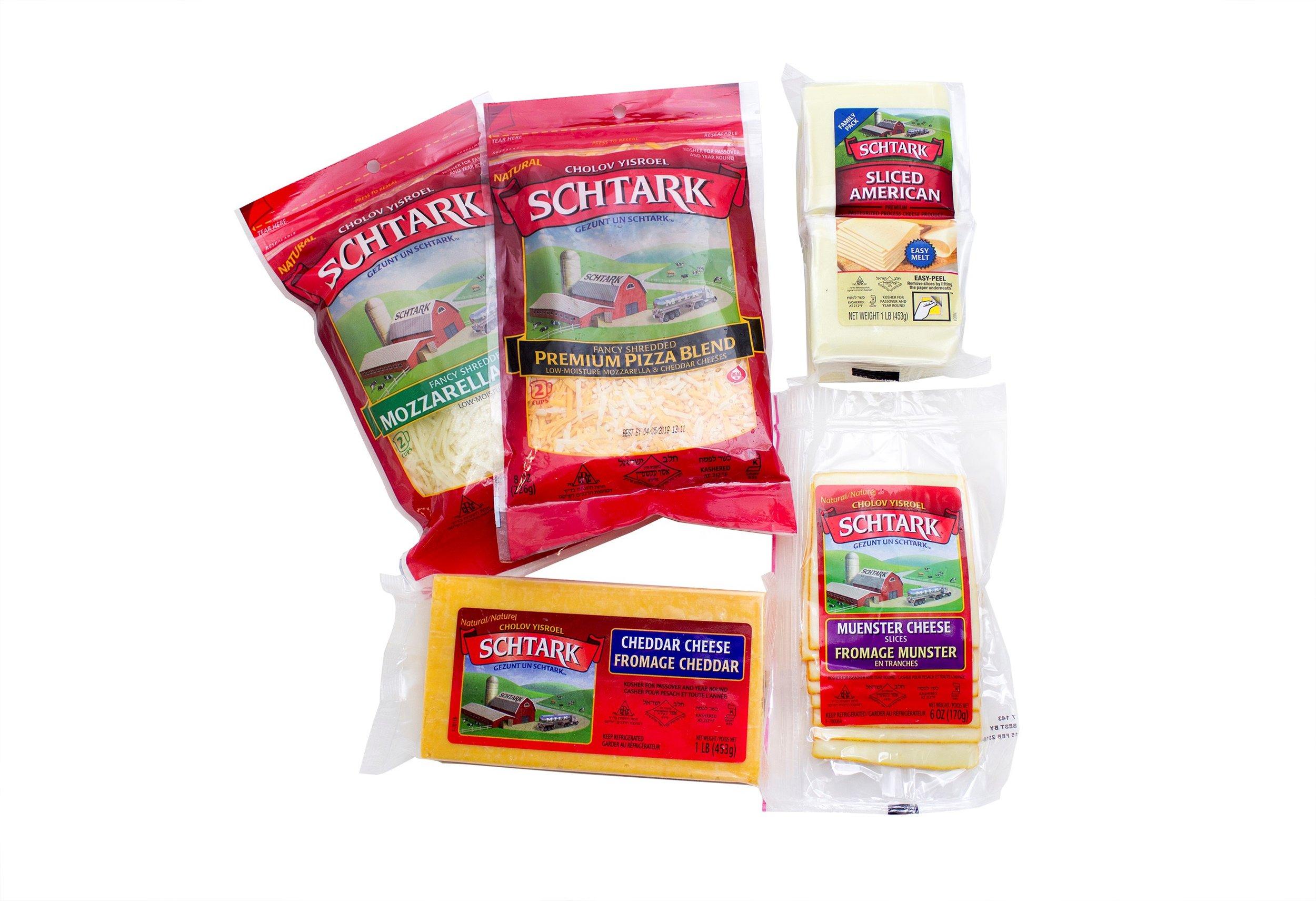 Schtark Super Kosher 5 Flavor Cheese Assortment