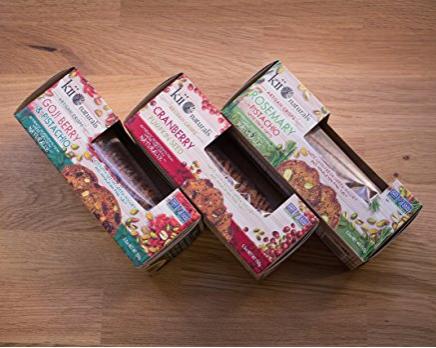 Kii Naturals Artisan Crackers Variety Pack