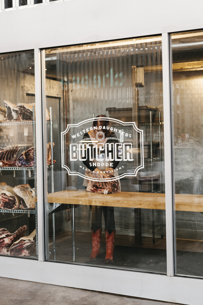 Western Daughter's butcher shop in Denver, CO, photographed for Bon Appetit Magazine. Brad Torchia is a Los Angeles editorial and advertising photographer.