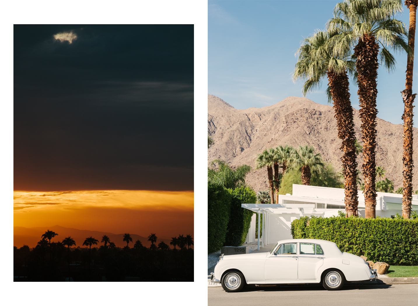 Palm Springs, California.  Brad Torchia is an LA-based editorial and commercial photographer.
