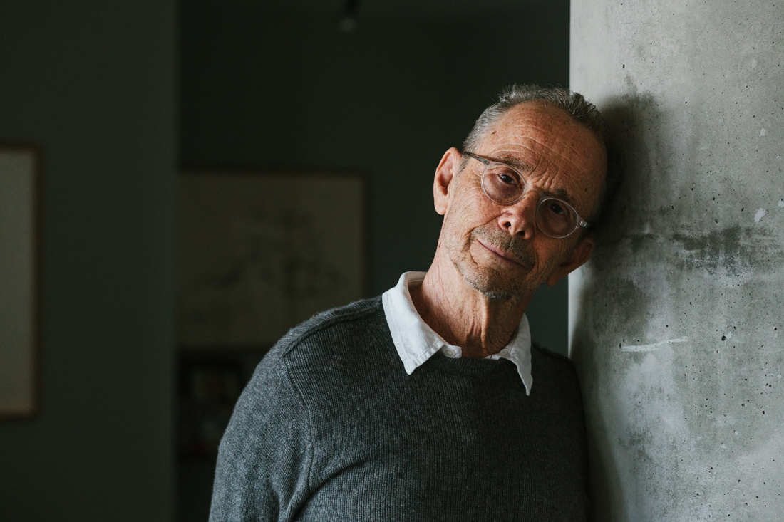 Joel Grey, photographed for The New York Times. Brad Torchia is an LA-based editorial and commercial photographer.