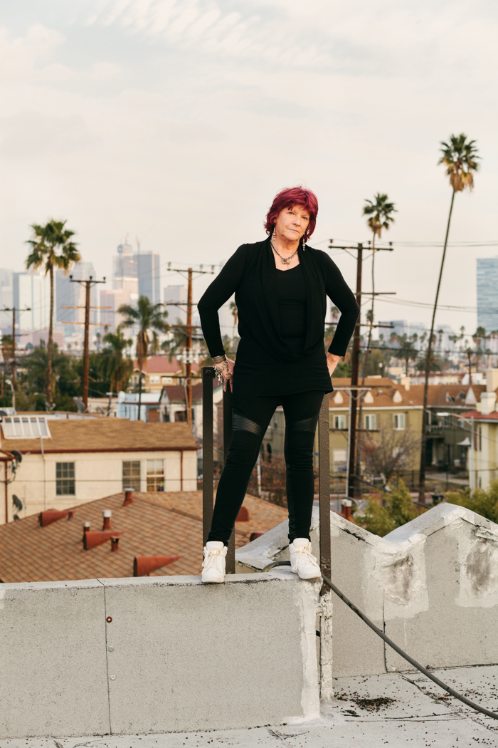 Tana Douglas, the first female roadie in the world. Photographed for Smith Journal in Los Angeles, CA. Brad Torchia is an LA-based editorial and commercial photographer.