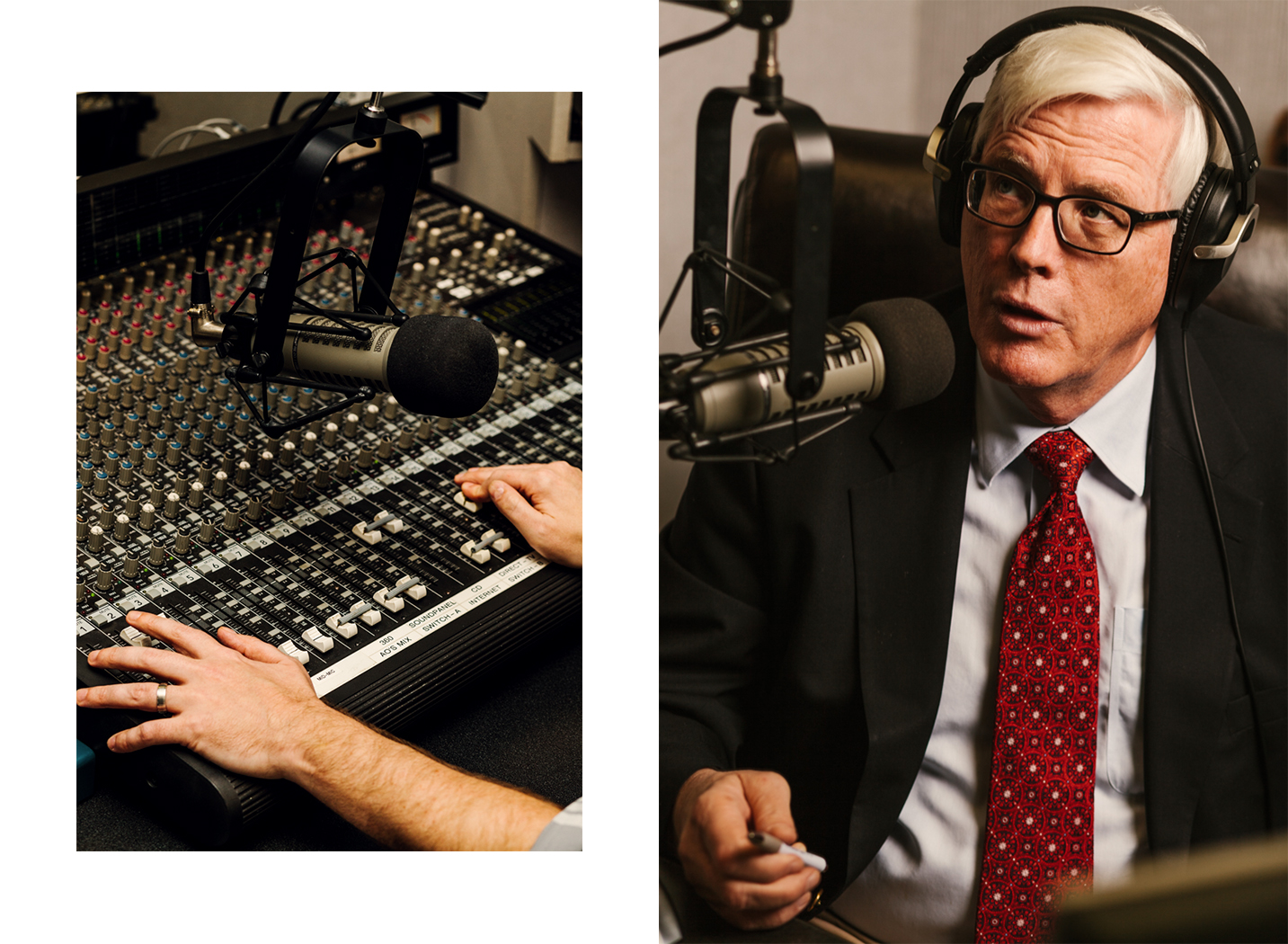 Hugh Hewitt, photographed for Monocle.  Brad Torchia is an LA-based editorial and commercial photographer.
