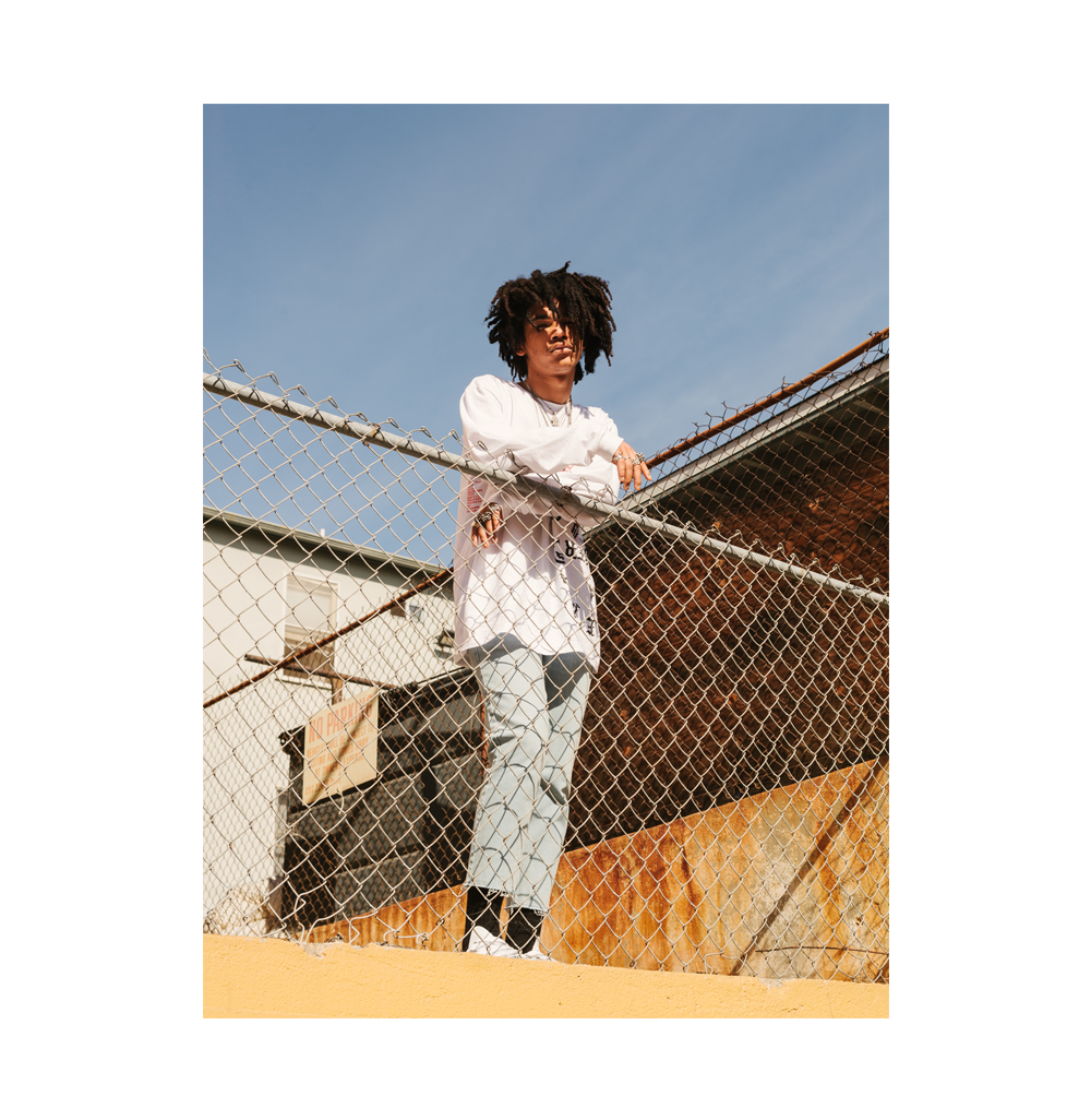 Luka Sabbat, photographed in Los Angeles for GQ.  Brad Torchia is an LA-based editorial and commercial photographer.