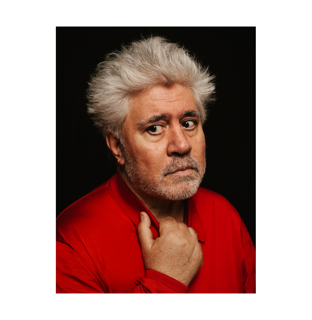 Pedro Almodovar for The New York Times.  Brad Torchia is an LA-based editorial and commervial photographer.