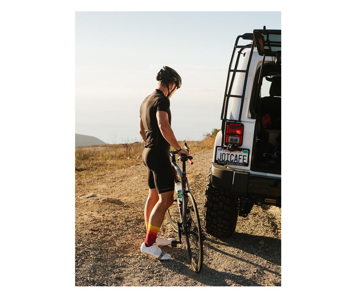 Lululemon biking in Malibu. Brad Torchia is an LA-based editorial and commercial photographer.