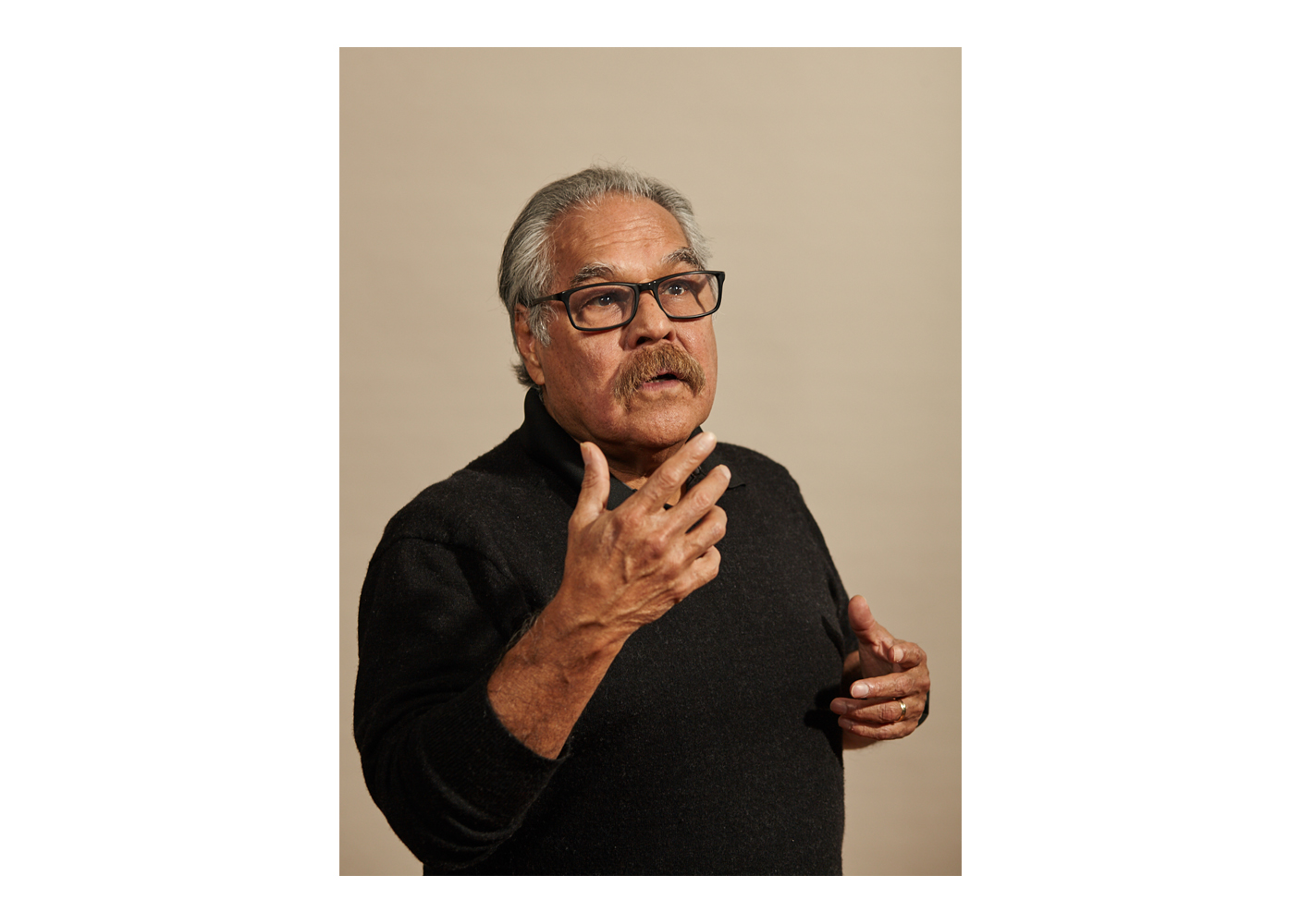 Luis Valdez, photographed for the New York Times in Los Angeles. Brad Torchia is an LA-based editorial and commercial photographer.