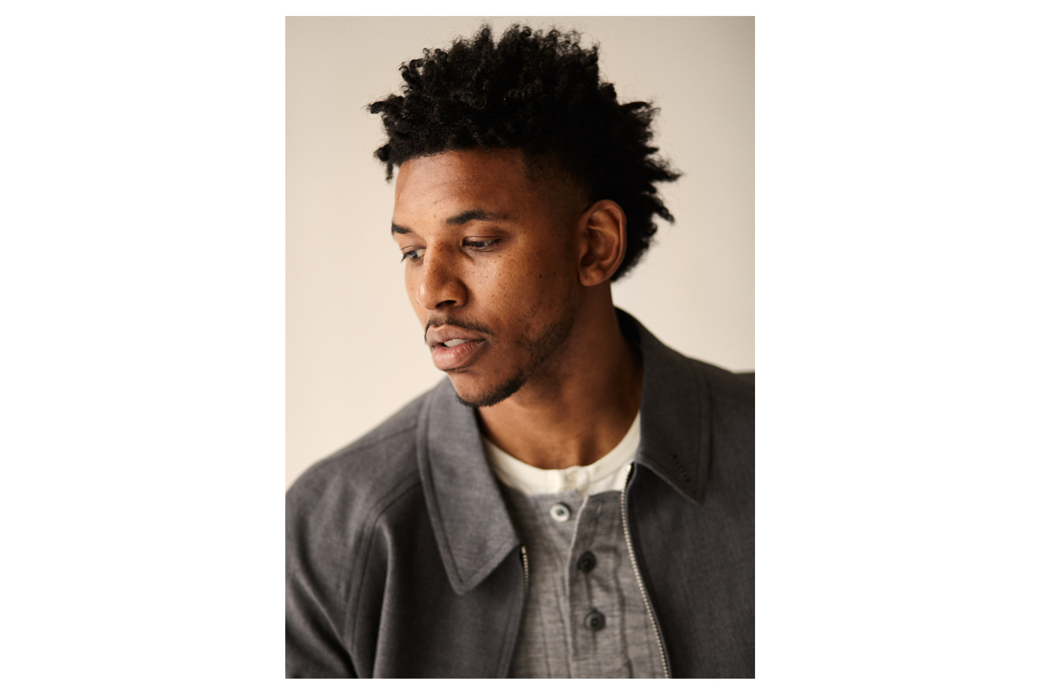 Los Angeles Laker Nick Young (Swaggy P), photographed for GQ in LA.  Brad Torchia is an LA-based editorial and commercial photographer.