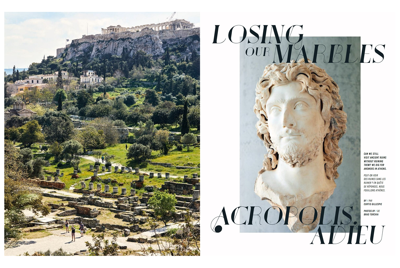 Athens, Greece for enRoute magazine.  Brad Torchia is an LA-based editorial and commercial photographer.