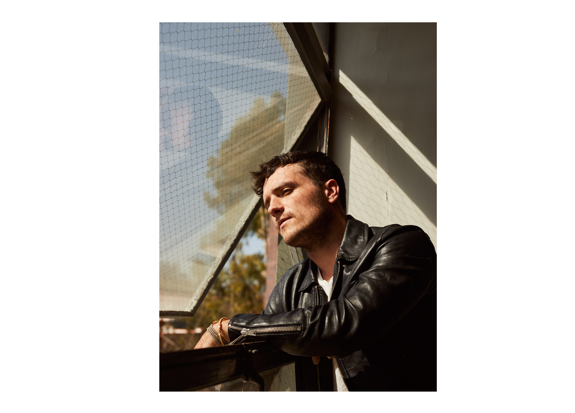 Josh Hutcherson, photographed for The New York Times Style